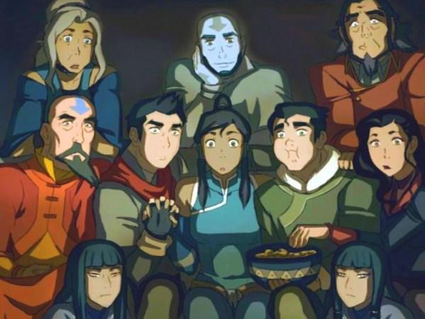 A Lenda De Korra Serie Revela Que Antigo Avatar Era Bissexual