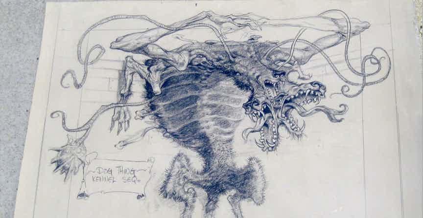 The Thing Dog, Fatos Desconhecidos