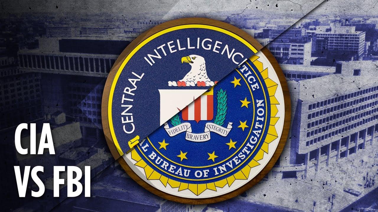 Qual a diferença entre FBI e CIA?