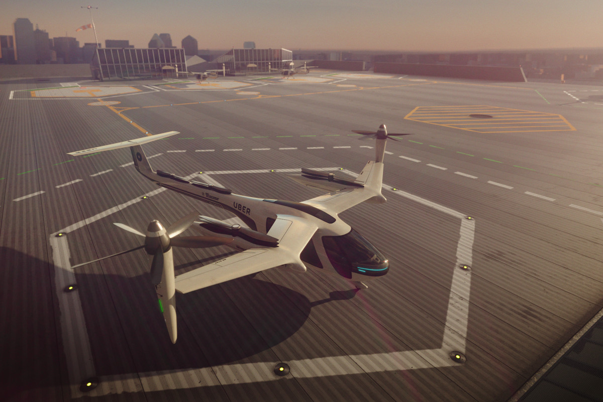 Esse é o 'carro voador' que a Uber quer criar