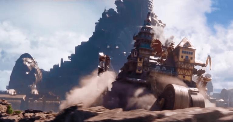 Máquinas Mortais – Cidades sobre rodas se enfrentam no primeiro trailer do filme