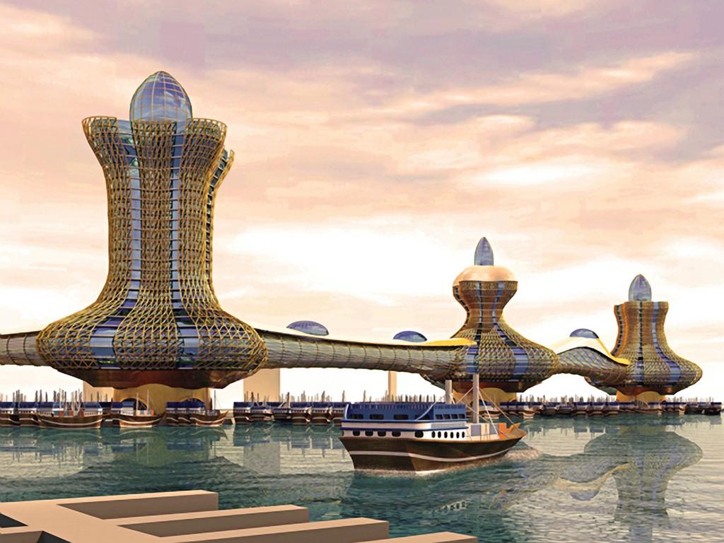 Aladdin Cidade Dubai, Fatos Desconhecidos