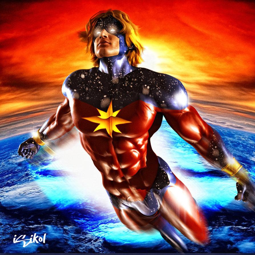 Captain Mar Vell By Isikol D349pwx, Fatos Desconhecidos