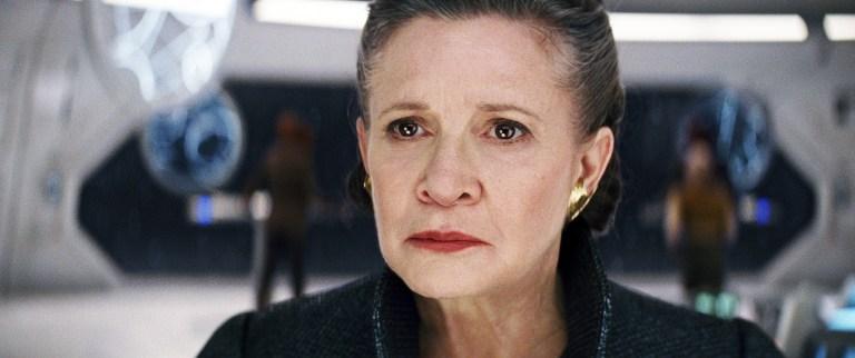Como o Episódio IX de Star Wars vai tratar a morte de Carrie Fisher