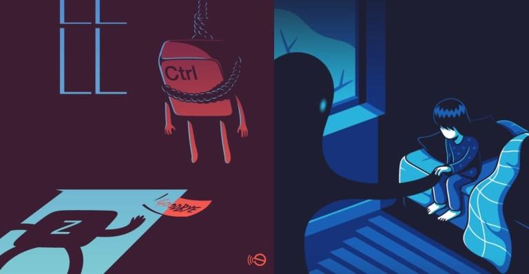 16 ilustrações tristes que mostram a verdade sobre nossas vidas