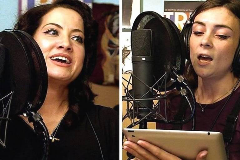 Quem são essas pessoas que morreriam se cantassem juntas?