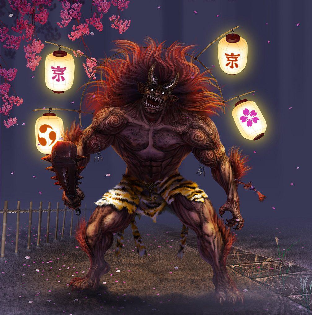 Anima   Lantern Oni By Wen M E1515778276361, Fatos Desconhecidos