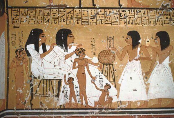 Cena Familiar No Antigo Egito 600x405, Fatos Desconhecidos