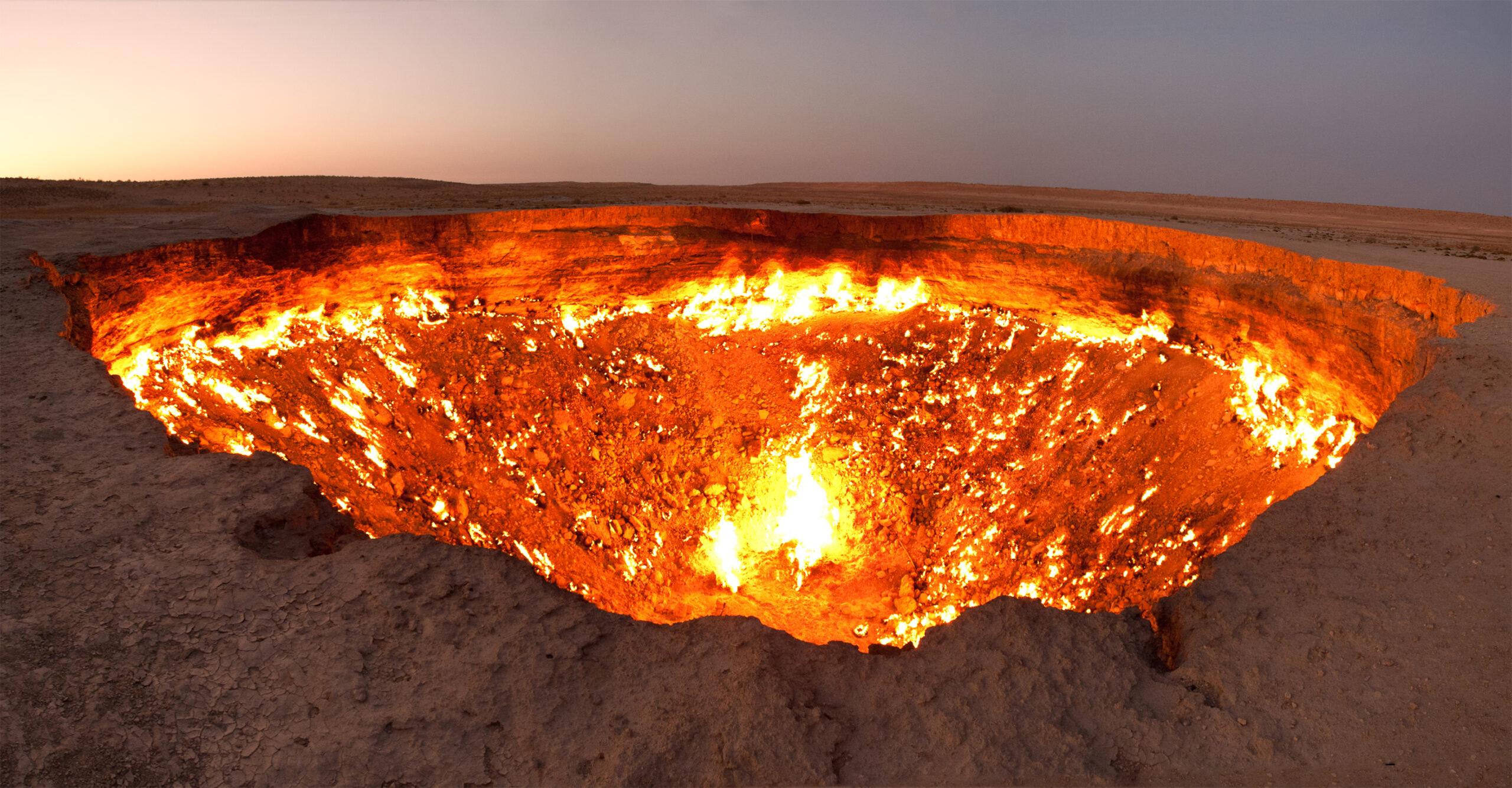 7 chamas eternas naturais que existem no mundo