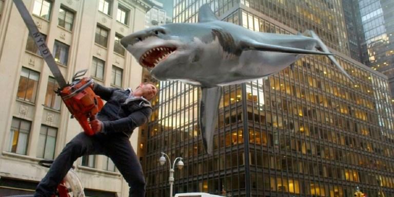 Sharknado 6 – Além dos tubarões, filme terá viagem no tempo e dinossauros