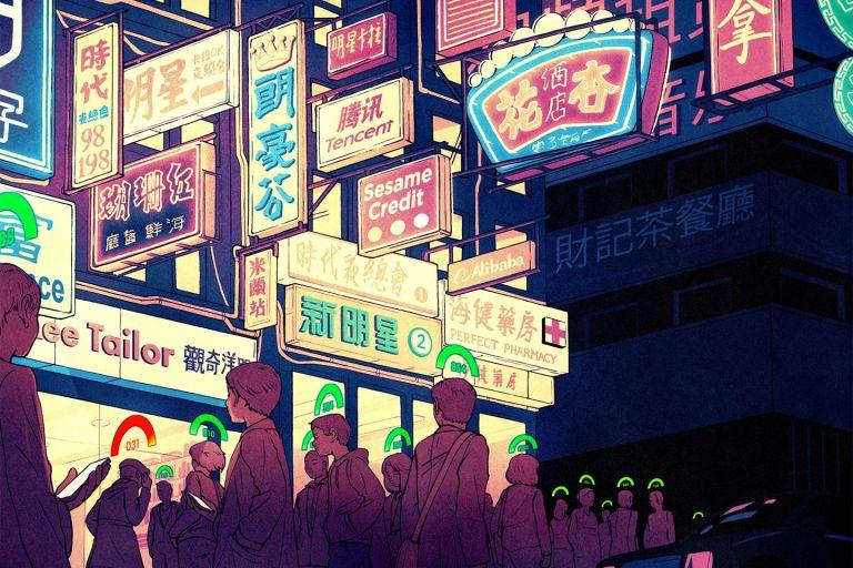 A China se tornou oficialmente um episódio de Black Mirror