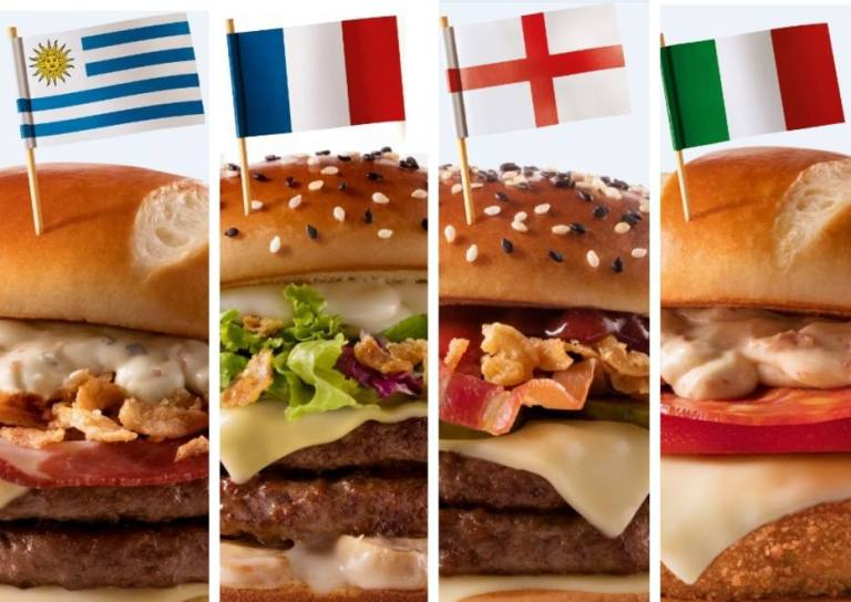Esses são os 8 sanduíches que o McDonald's fez para a Copa do Mundo de 2018
