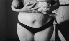 15 imagens brutais e honestas do corpo feminino após a gestação