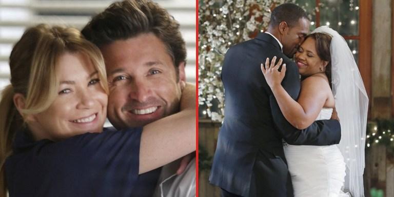7 casais de Grey's Anatomy que todos nós amamos