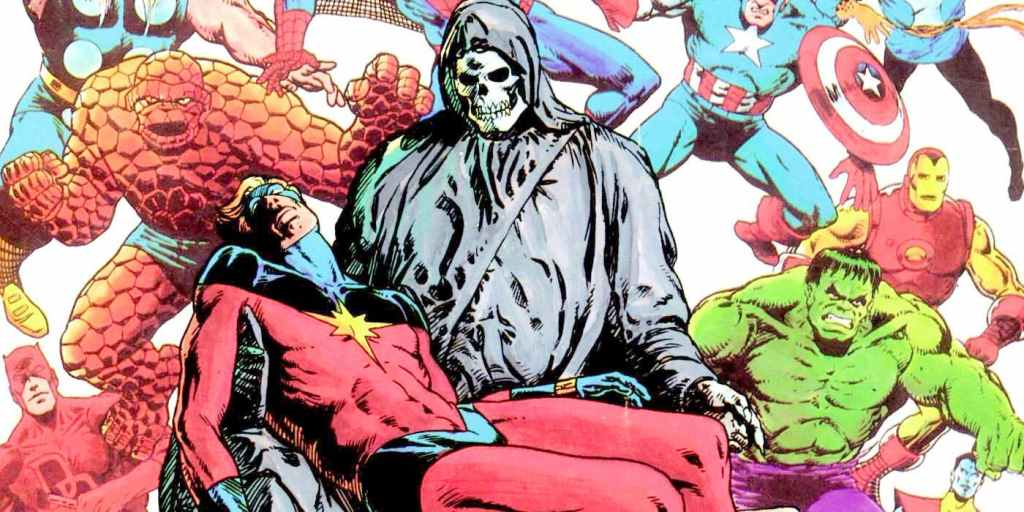 Death Of Captain Marvel 1024x512, Fatos Desconhecidos