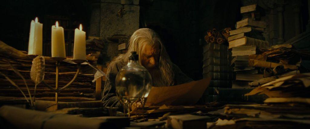 Gandalfs Library 1024x427, Fatos Desconhecidos