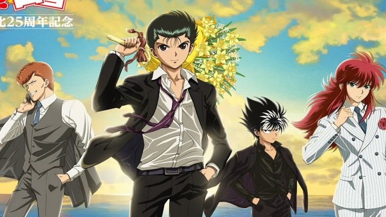 Imagem inédita de Yu Yu Hakusho revela visual dos personagens para o novo episódio