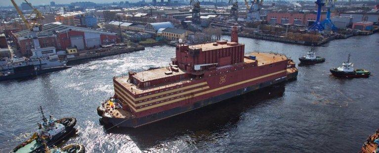 Conheça navio russo que está sendo chamado de 'Titanic Nuclear'