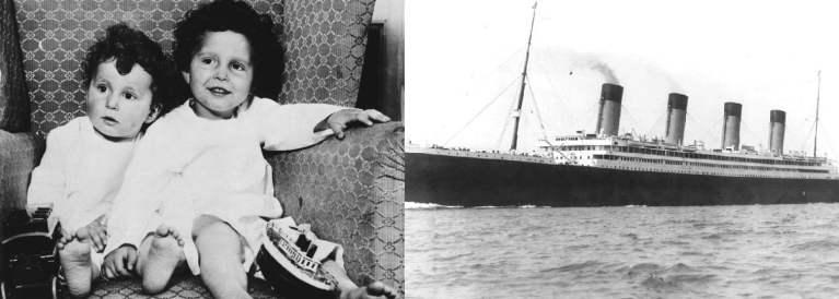 7 histórias chocantes de crianças do Titanic