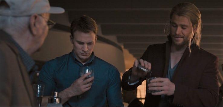 Steve Rogers And Thor Drink, Fatos Desconhecidos