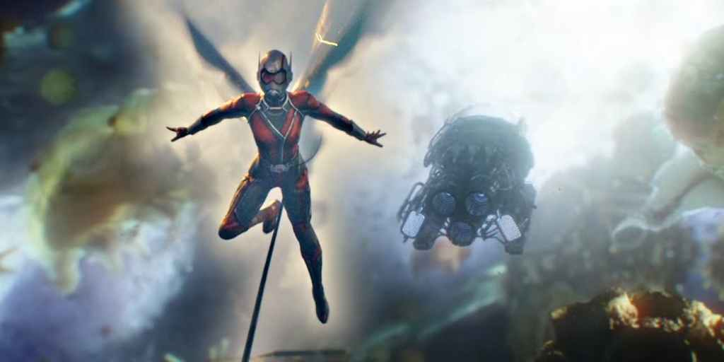 Wasp In The Quantum Realm In Ant Man 1024x512, Fatos Desconhecidos