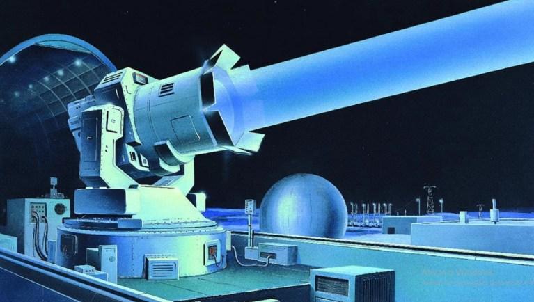 Rússia pretende explodir lixo espacial com um canhão à laser