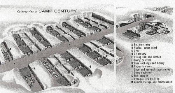 Cutaway View Camp Century 600x319, Fatos Desconhecidos