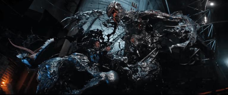 Venom e Riot brigam em novo trailer do filme