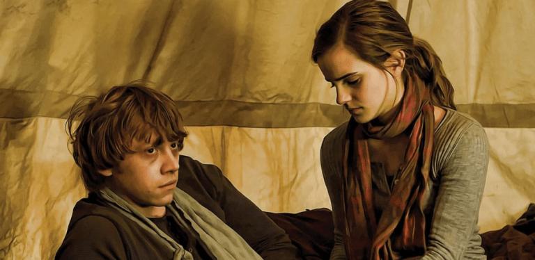 7 coisas que não fazem sentido no relacionamento de Hermione e Rony