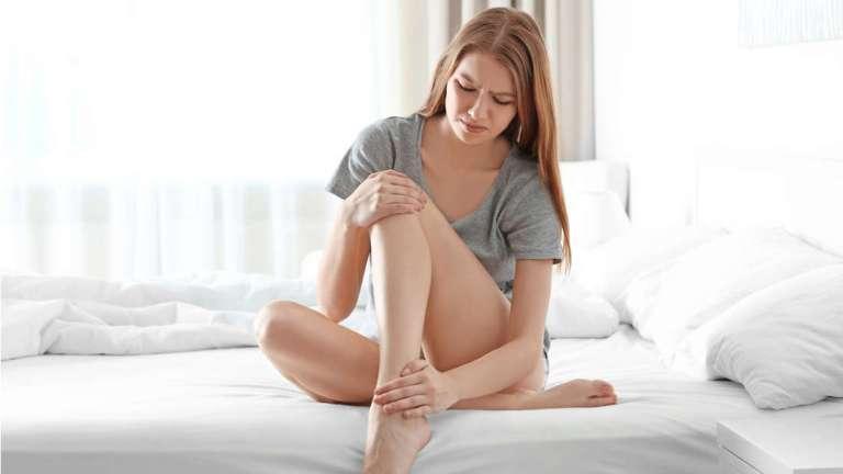 Revelado algo assustador depois que mulher começou a sentir 'choques' em sua perna