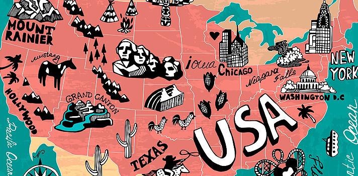 15 fatos incríveis sobre os Estados Unidos