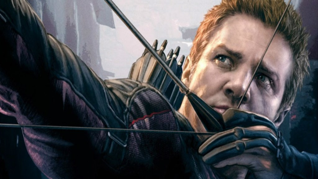 Hawkeye Jeremy Renner Avengers 2 Age Of Ultron Art Poster 1024x577, Fatos Desconhecidos