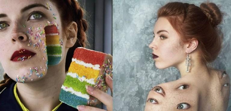 Essas imagens de uma artista russa te transportam para um universo paralelo