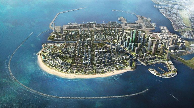 Conheça a cidade de 15 bilhões de dólares que vai concorrer com Dubai