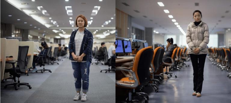 Esse fotógrafo mostrou as diferenças entre a Coreia do Sul e a do Norte