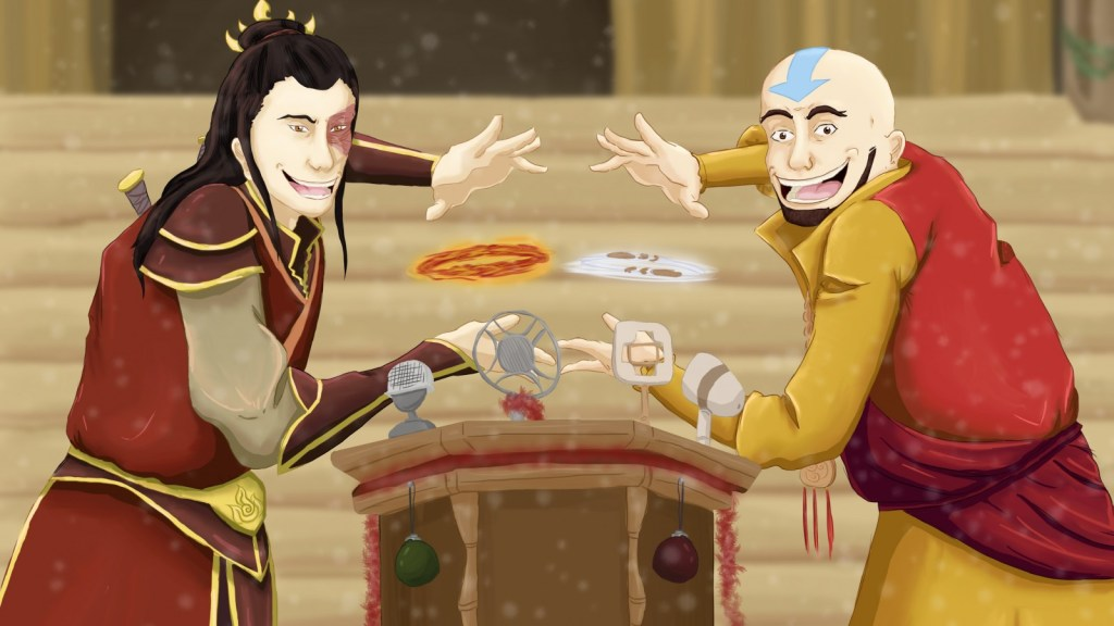 Aang Zuko Avatar The Last Airbender 1024x576, Fatos Desconhecidos
