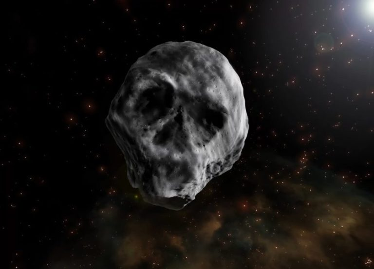 Asteroide em forma de caveira passará pela Terra