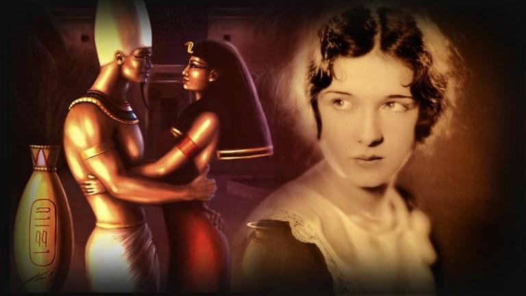 A mulher que diz ser a reencarnação de uma sacerdotisa do Antigo Egito