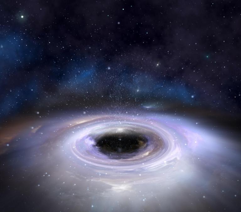 """Existe um """"furacão de matéria escura"""" passando próximo à Terra"""