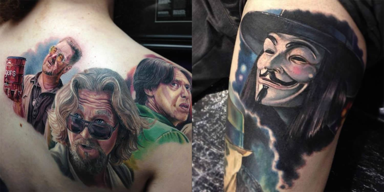 Tente acertar a que filme essa tatuagem faz referência [Quiz]