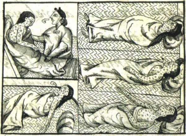 Aztecs Smallpox 600x439, Fatos Desconhecidos
