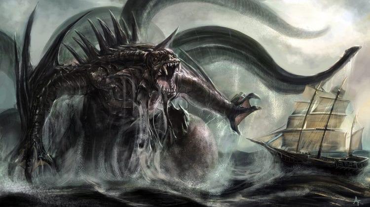 O Kraken realmente existiu?