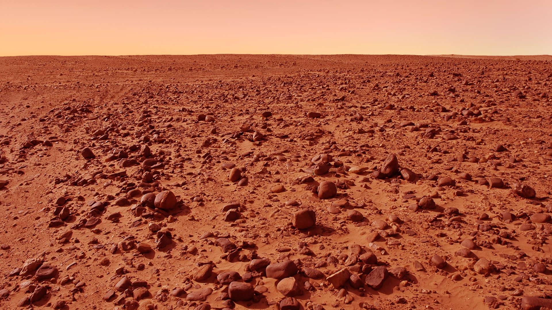 Por que o Sol em Marte é azul?