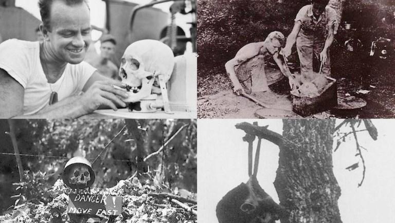Os macabros troféus que os americanos tomaram durante a 2° Guerra Mundial