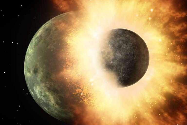 A lua pode ser responsável pela vida na Terra