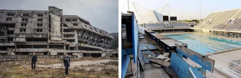15 imagens tristes que mostram os locais olímpicos abandonados após as Olimpíadas