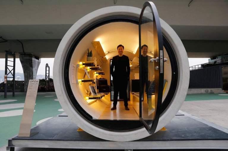 Morar em Hong-Kong é tão caro que arquitetos fazem casas em tubos