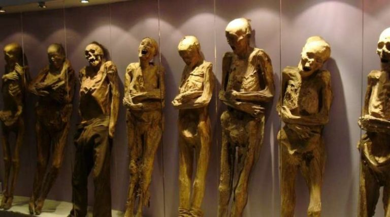 7 restos mumificados mais intrigantes que existem