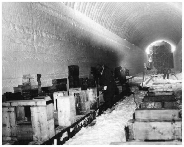 Conheça a cidade nuclear escondida debaixo de um geleira
