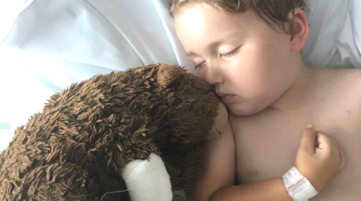 Garoto com câncer perde seu ursinho preferido e morre após achá-lo
